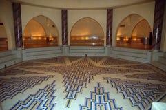 Underground rooms of the mosque Hassan II in Casablanca Stock Image