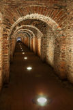 Underground secret passage Royalty Free Stock Image