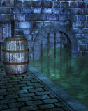 Underground Sewer Royalty Free Stock Images