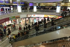 Underground shopping center Okhotny Ryad Royalty Free Stock Photos