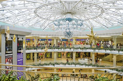 Underground shopping mall in the center of Minsk Royalty Free Stock Photography