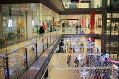 Underground shopping mall at japan Stock Photos