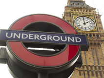 Underground sign Royalty Free Stock Photo