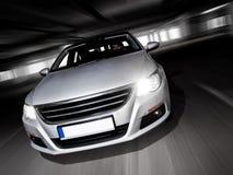 Underground speeding. Royalty Free Stock Photos