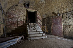 Underground  stairs Royalty Free Stock Image
