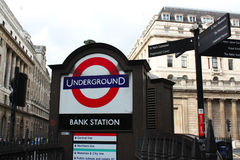 Underground station Royalty Free Stock Photography