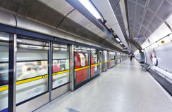 Underground station Royalty Free Stock Images