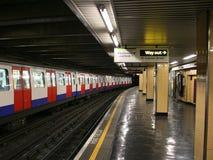 Underground station Royalty Free Stock Photos