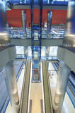 Underground station. In Madrid city Stock Photography