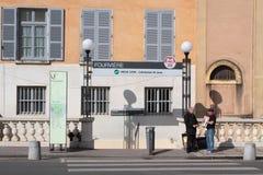 Underground station in Fourviere Stock Photos