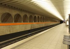 Underground Station in Munich Stock Photo