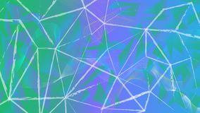 Underground style. The mess in the lines. Just abstract. Colorful background. stock illustration