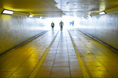 Underground subway Stock Image