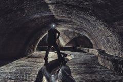 Underground system under city Royalty Free Stock Photos