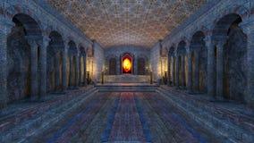 Underground temple stock footage