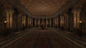 Underground temple stock video footage