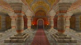Underground temple Stock Photos
