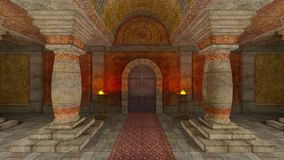 Underground temple Stock Photography