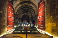The underground tomb Royalty Free Stock Photo