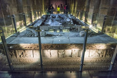 The underground tomb Stock Images
