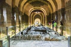 The underground tomb Stock Photography