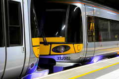 Underground train Stock Photography