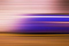 Underground Train, Abstract Motion Blur Royalty Free Stock Images