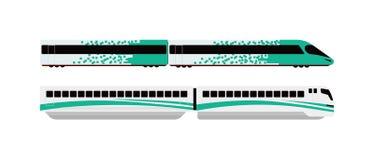 Underground train  illustration. Stock Photos