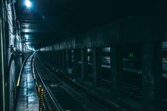 Underground Train Railway Stock Image