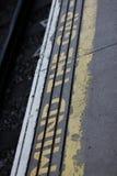 Mind the gap. Underground tube  london Stock Photography