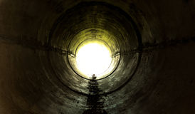 Underground tunnel Royalty Free Stock Image