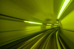 Underground tunnel Stock Image
