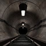 Underground tunnel Stock Photos