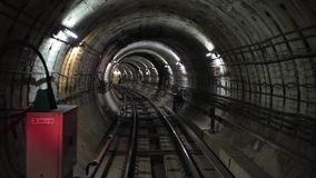 Underground Tunnel HD stock video footage