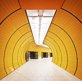 Underground tunnel Royalty Free Stock Photo