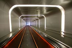 Underground tunnel in Oslo Stock Photos