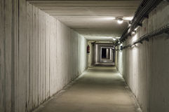 Underground tunnel in the Salt Mine Royalty Free Stock Photo