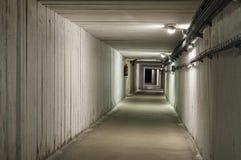 Underground tunnel in the Salt Mine Royalty Free Stock Photo
