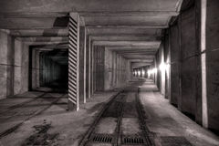 Underground tunnel Royalty Free Stock Photos