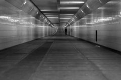 Underground tunnels. Image of infrastructure, underground tunnels Royalty Free Stock Photos
