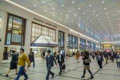 The underground Umeda terminal Stock Photo