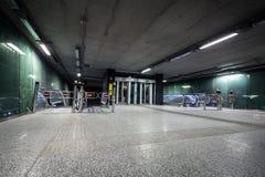 Underground under construction Royalty Free Stock Image