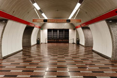 Underground vault Royalty Free Stock Photos