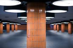 Underground walkway ,  pedestrian underpass - undergrade crossin Royalty Free Stock Images