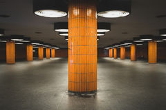 Underground walkway - pedestrian underpass ,undergrade crossing Stock Photo