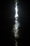 Underground waterfall Royalty Free Stock Image