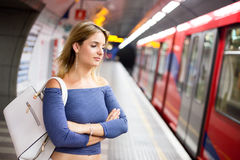 On the underground Stock Photography