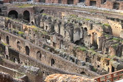 Undergrounds of Colosseum Stock Photography