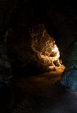 Undergroung cave interior Stock Photos