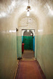 Undergroung military soviet bunker Royalty Free Stock Images